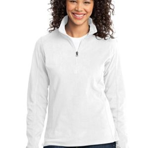 Ladies Microfleece 1/2 Zip Pullover Thumbnail