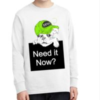 1-Hr Rush Youth Long Sleeve T-Shirt Thumbnail